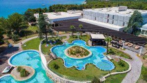 Poolbereich Hotel Niko Sibenik