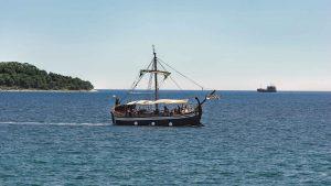 Galija Entdeckerschiff in Sibenik