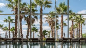 Poolbereich des Hotels Ivan in Sibenik