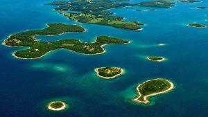 Pula und Brijuni Inseln in Kroatien