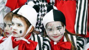 Kinderkarnevalsparade in Opatija