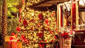 Weihnachtsbeleuchtung in Opatija