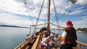 Piratenbootstour in Sibenik