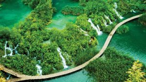 Nationalpark Plitvicer Seen in Sibenik