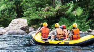 Rafting auf der Cetina in Sibenik