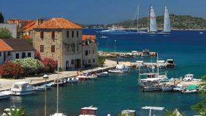 Insel Zlarin in Kroatien
