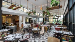 Restaurant des Hotels Gardenia in Opatija