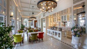 Restaurant im Hotel Milenij in Opatija