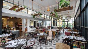 Restaurant im Hotel Gardeija in Opatija
