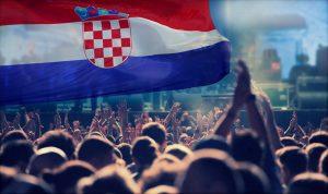 Feiern Sie die Stimmung der kroatischen Woche-6