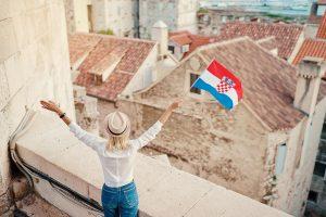 Feiern Sie die Stimmung der kroatischen Woche-7