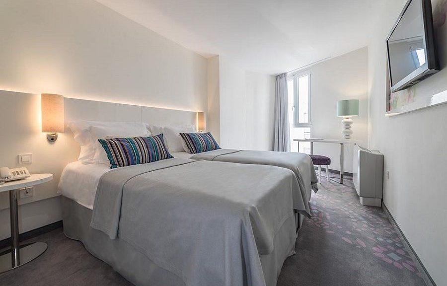 Doppel- oder Zweibettzimmer, 22 m² Atriumblick_19