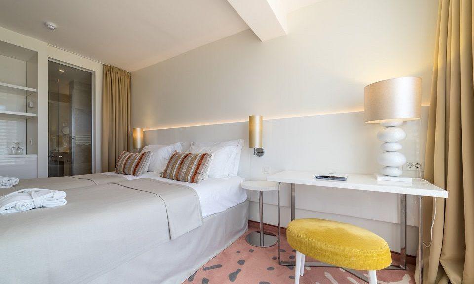 Doppel- oder Zweibettzimmer, 22 m² Parkblick-1