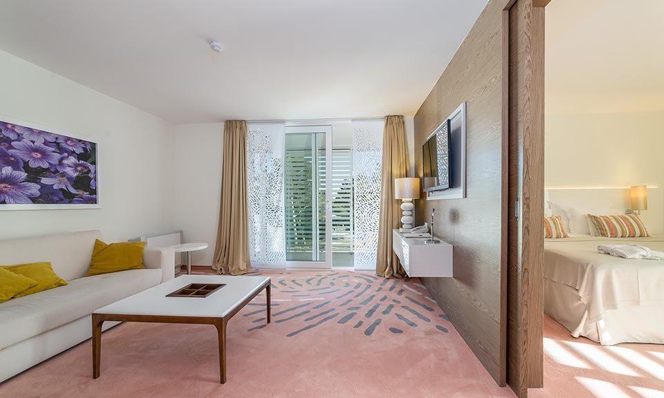 Suite, 46 m² Parkblick, mit Balkon_8