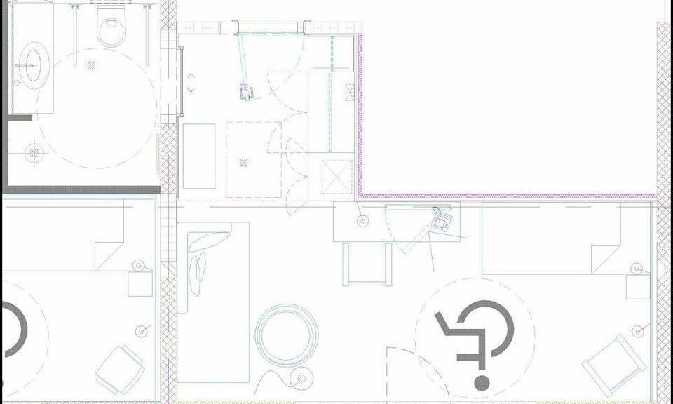 Handicapped-Einzelzimmer, 22 m² Atriumsblick_25