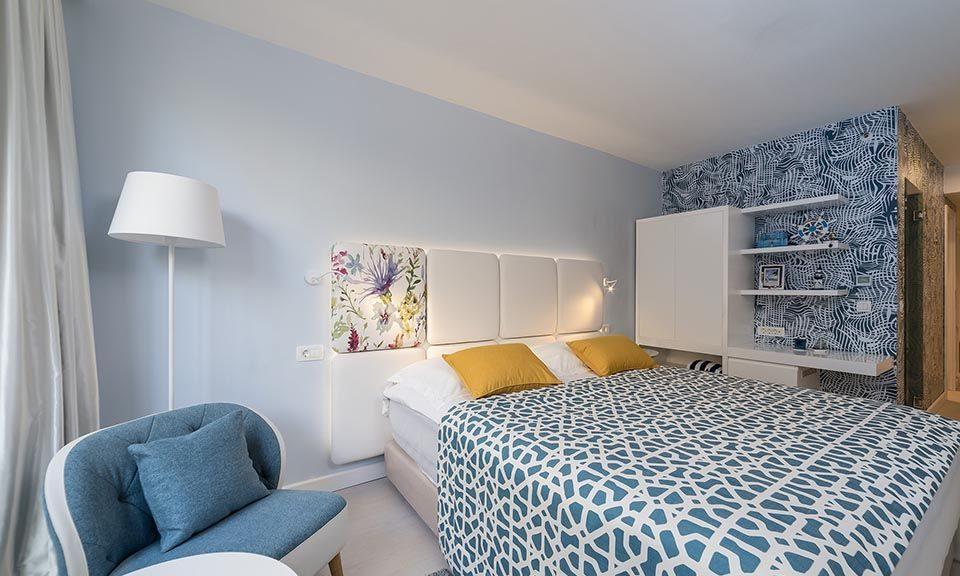 Familienzimmer, 31 m² Atriumsblick, mit französischem Balkon_14
