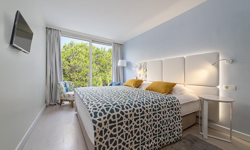 Familienzimmer, 31 m² Parkblick, mit französischem Balkon_9