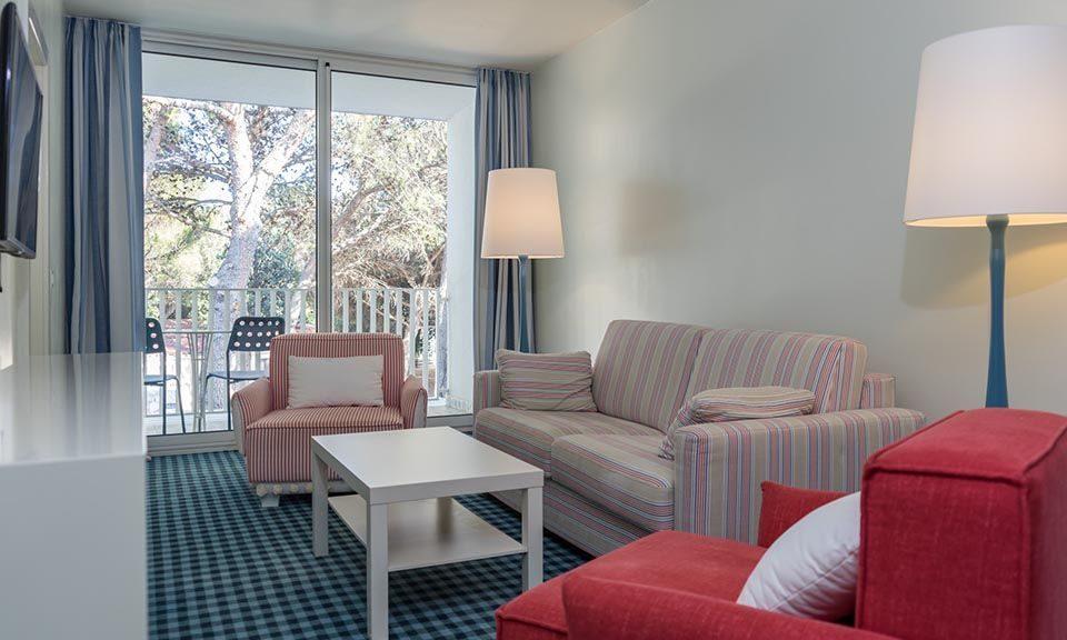 Suite 70,5 m² Parkseite, mit Balkonen-1