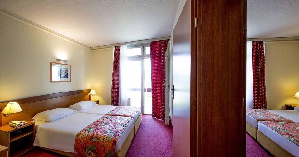 Doppelzimmer mit Verbindungstür, 36 m² Parkblick, mit Balkonen_4