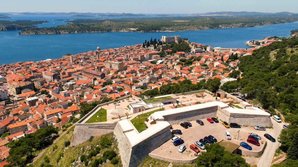Baron Festung in Sibenik