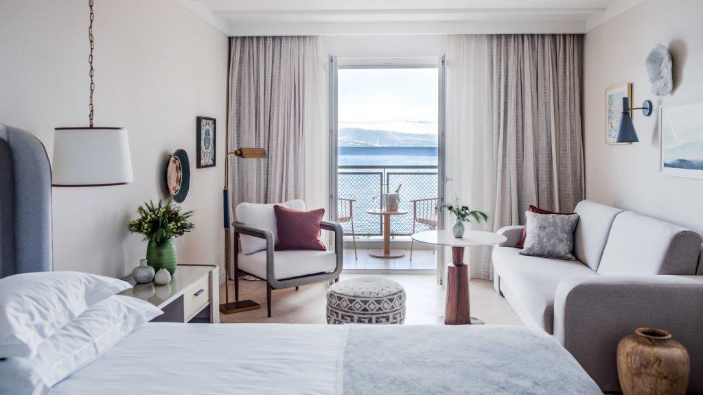 Villa Camellia Doppelzimmer 32 m² Meerblick und Balkon_5