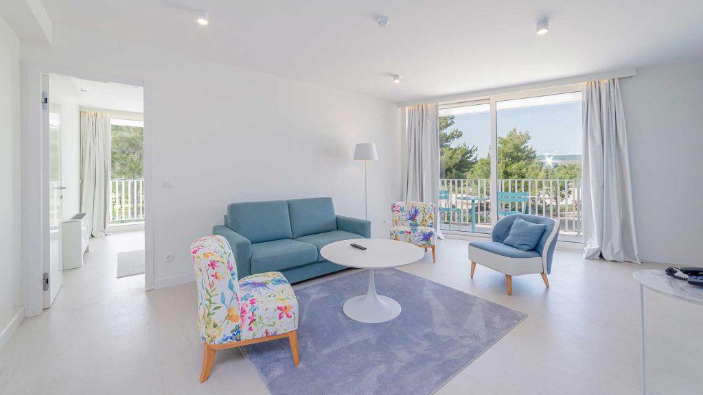 Suite, 53 m² Meerblick, mit Balkonen_1