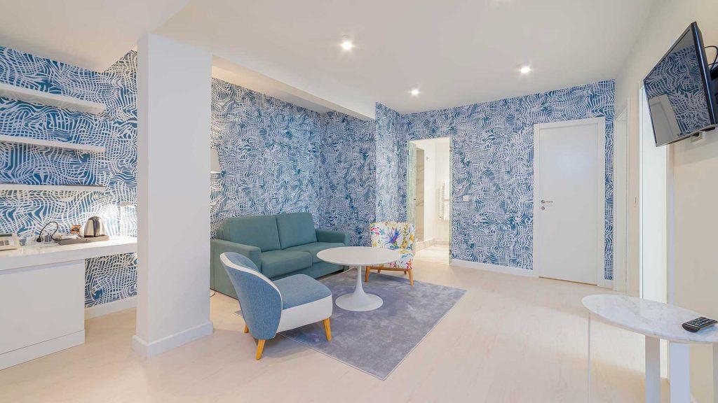 Großes Familienzimmer, 51 m² Atriumsblick, mit Fenstern_3