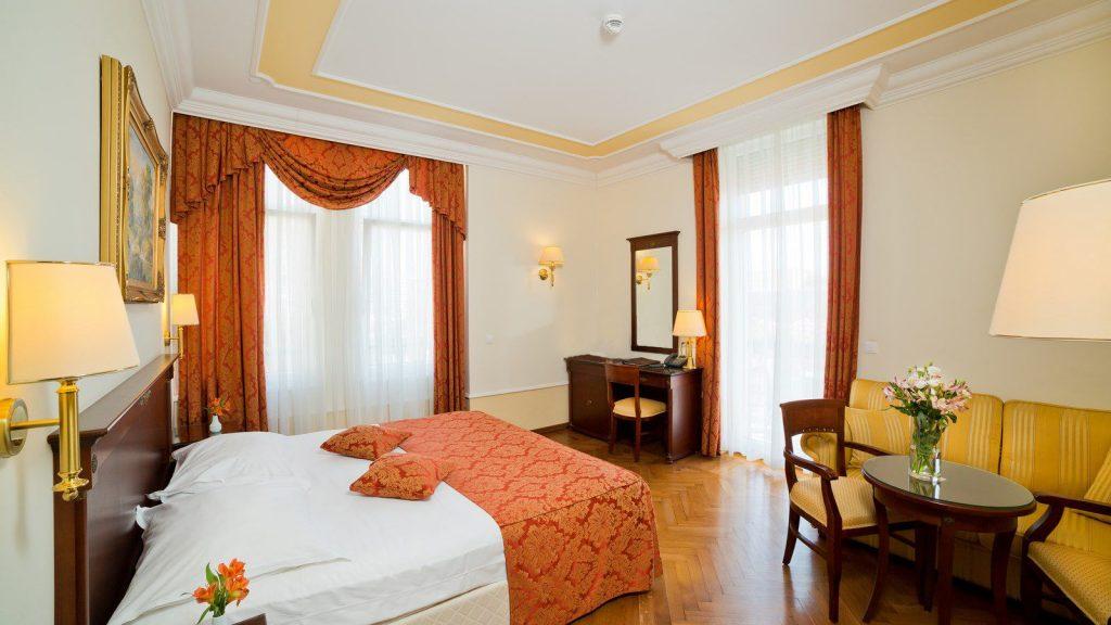Standard Dvokrevetna Soba 30 m² Pogled na Opatiju_2