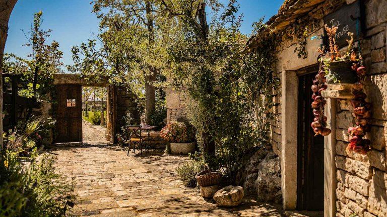 Villaggio etnico dalmata