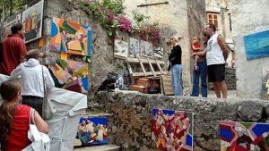 Mandrać Concorso internazionale di pittura – Un incontro ispiratore di artisti-5