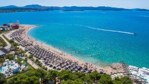 White Beach in Šibenik