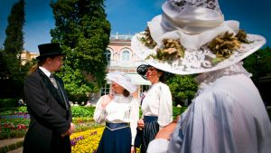 Costumed sightseeing of Opatija-19