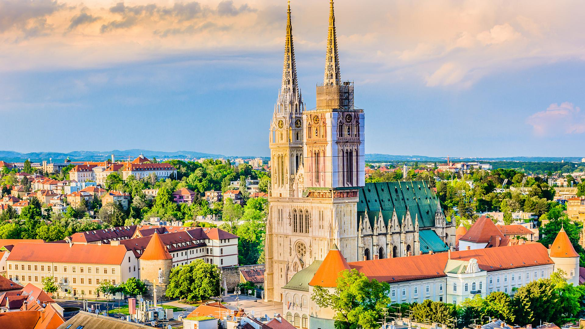 Zagreb Cathedral Croatia S Tallest Building Amadria Park Official Web